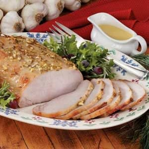 Honey-Mustard Pork Roast