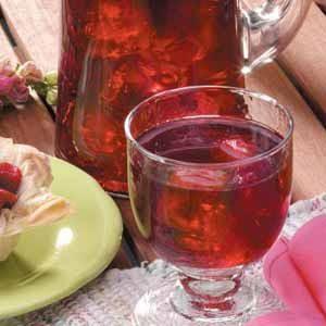 Cran-Raspberry Iced Tea