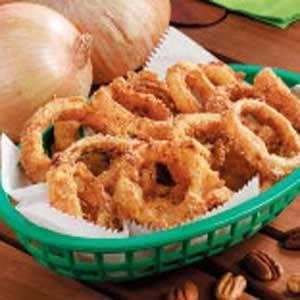 Cornmeal Onion Rings