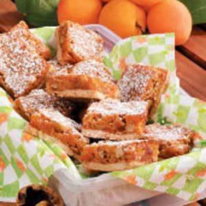 Apricot Walnut Bars