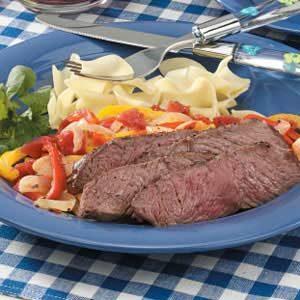 Italian Pepper Steak