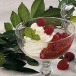 Raspberry Cream Dessert