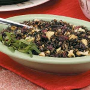 Apple-Cranberry Wild Rice