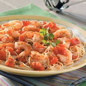 Italian Shrimp And Pasta Recipe How To Make It Taste Of Home
