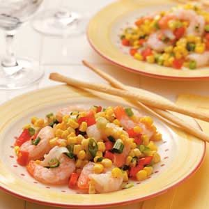 Corn and Shrimp Salad