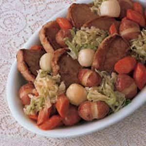 One Dish Pork Chop Dinner
