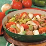 Lime Pork with Peppers