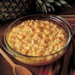 Golden Pineapple Casserole Side Dish