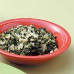 Quick Creamy Spinach