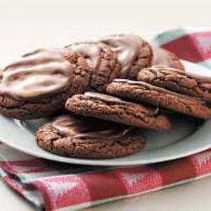 Chocolate Mint Crisps
