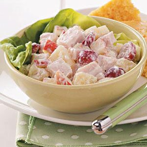 Creamy Fruited Turkey Salad