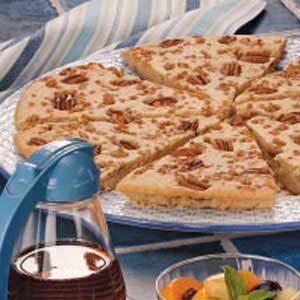 Pecan Pancake Pizza