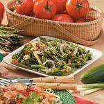 Stir-Fried Asparagus with Sliced Almonds