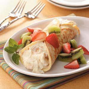 Fruity Dessert Crepe