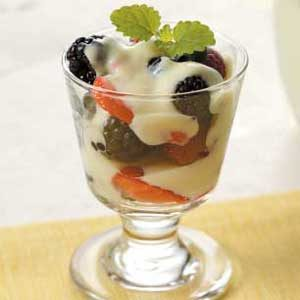 Custard Berry Parfaits