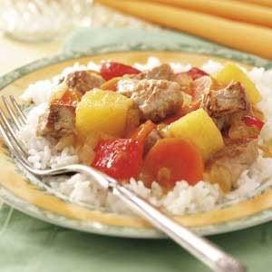 Pork 'n' Pineapple Stir-Fry