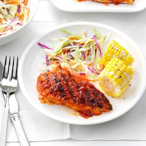 Spicy Barbecued Chicken
