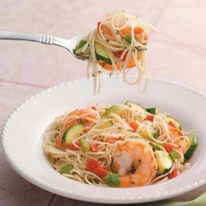 Pepper Shrimp Scampi