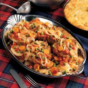 Hoosier Pork Chop Supper