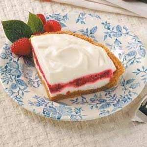 Lemon-Raspberry Ribbon Pie