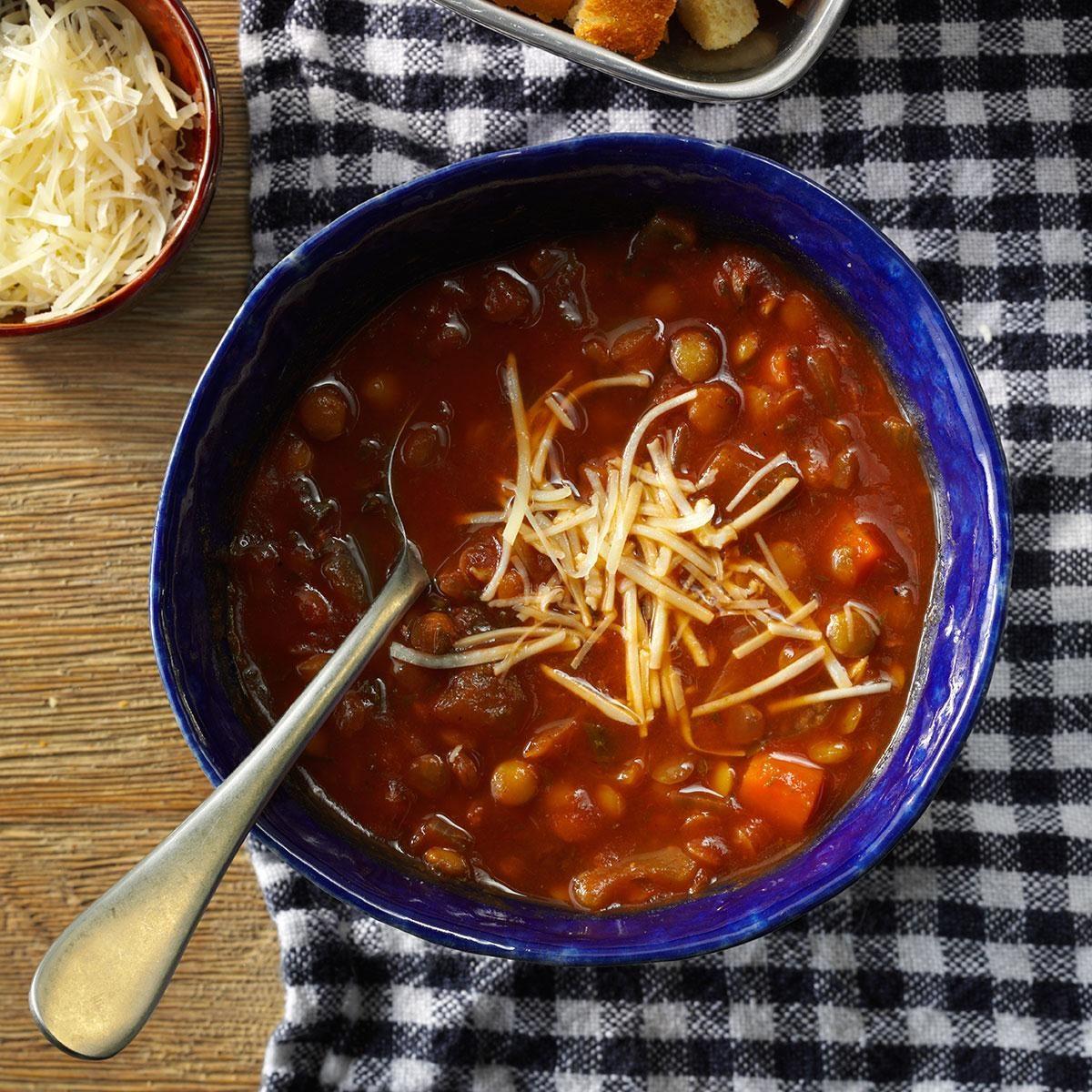 Virginia: Italian-Style Lentil Soup