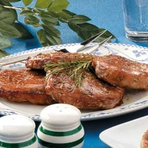 Marinated Rosemary Pork Chops