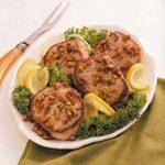 Lemon-Pecan Pork Chops