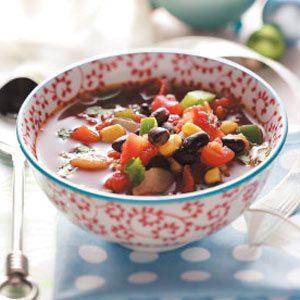 Southwest Bean Soup