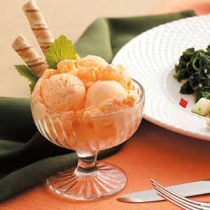 Frozen Orange Delight