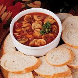 Garlic Mushroom Appetizer