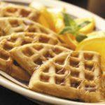 Orange Pecan  Waffles