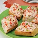 Open-Faced Crab Salad Sandwiches