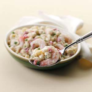 Shrimp 'n' Shells Salad