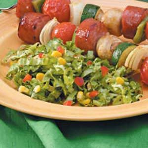 Corny Lettuce Salad