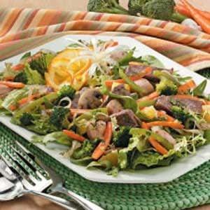 Hearty Stir-Fry Salad