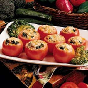 Broccoli Tomato Cups