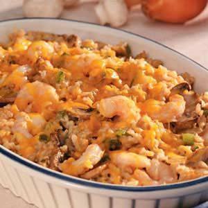 Makeover Shrimp Rice Casserole