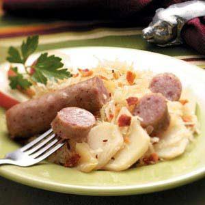 Brat Sauerkraut Supper