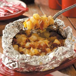 Three-Cheese Potatoes