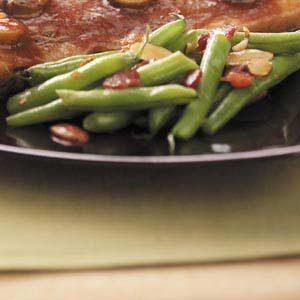 Bacon-Almond Green Beans