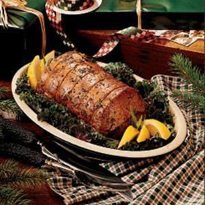 Baked Herb Pork Roast