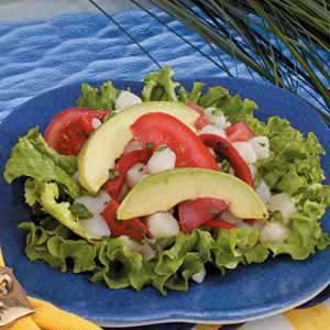 Southwest Scallop Salad