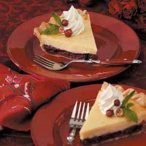 Cheesecake Cranberry Pie