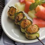 Zucchini-Wrapped Scallops