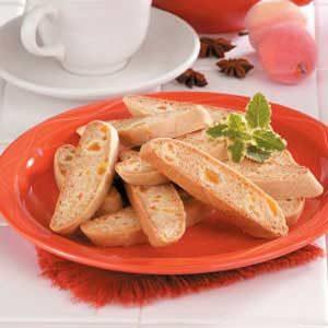 Honey Apricot Biscotti