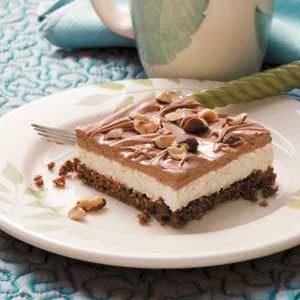 Hazelnut Cheesecake Dessert