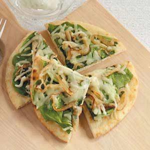 Spinach Flatbreads