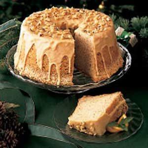 Spiced Chiffon Cake