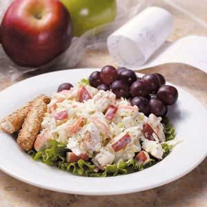 Apple Chicken Slaw