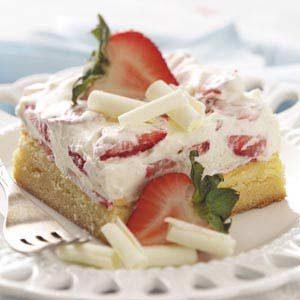 White Chocolate Berry Dessert